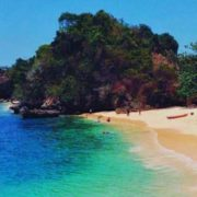 booking pantai tiga warna